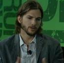 L'attore americano Ashton Kutcher