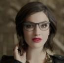 Ecco uno dei quattro nuovi modelli di Google Glass