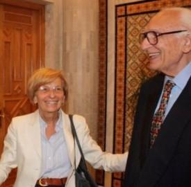 Marco Pannella ed Emma Bonino Radicali italiani