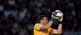 Samir Handanovic portiere dell ' Inter
