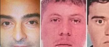 Da sinistra Gianluca Ciferri e i due operai uccisi
