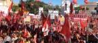 Cgil in piazza: no Jobs act sì riforma pensioni, ultime notizie, spaccato il Pd di Renzi