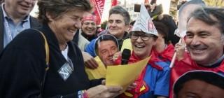 Cgil e Leopolda scontro Pd riforma pensioni lavoro