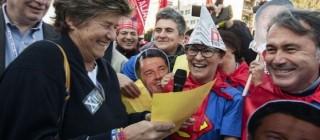 Riforma lavoro e pensioni, 25 ottobre Cgl vs Renzi