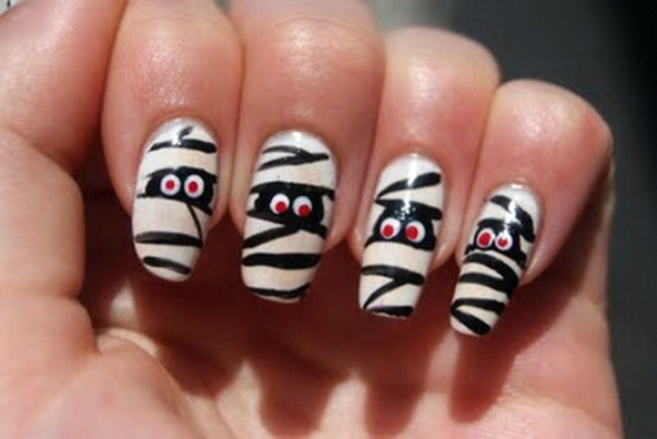 Nail art Halloween 2014: idee unghie