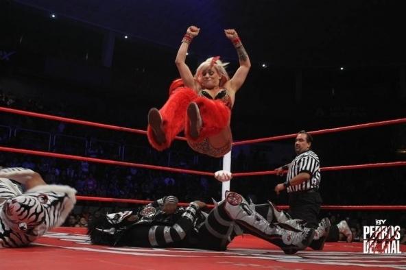 Taya es la actual campeona de AAA