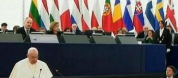 Papa Francesco lancia un appello alla Ue