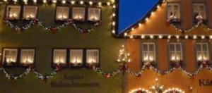 Rothemburg nel periodo natalizio