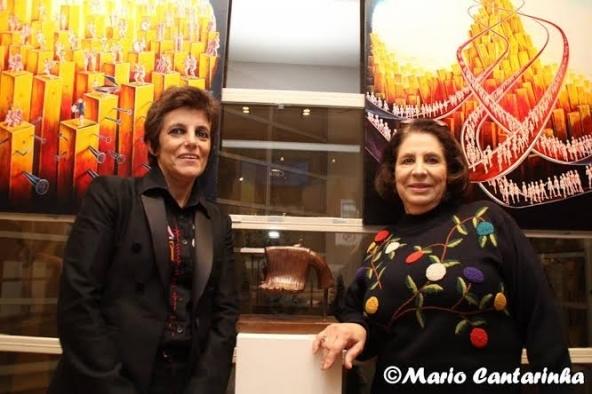 M. João. Santiago Ribeiro e Maria Fernanda Pinto.
