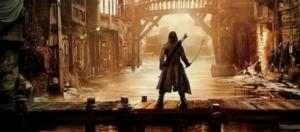 Una scena della terza parte del prequel Lo Hobbit