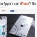 iPhone 6, novità, foto e caratteristiche anticipazioni sul blog di Sonny Dickson. Screenshot del blog sonnydickson.com