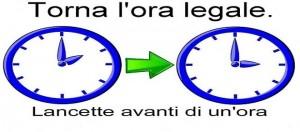 Ora legale 2014 oggi 29 marzo quando cambia l 39 orario e for Quando entra in vigore l ora legale