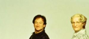 Robin Williams nella grande interpretazione di Mrs Doubtfire