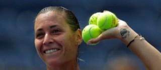 La tennista brindisina Flavia Pennetta