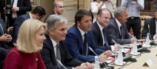 Matteo Renzi (Pd) a Parigi al vertice Pse