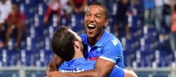 De Guzman dopo il gol al Genoa. Getty Images