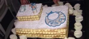Le foto del battesimo di Mattia, il primogenito di Manuela Arcuri
