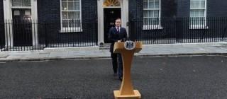 Primo Ministro britannico Cameron