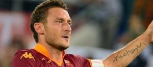 Francesco Totti, 38 anni capitano della corazzata giallorossa.