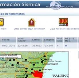 Terremoto de 2,6 en la zona metropolitana de Valencia - Blasting News