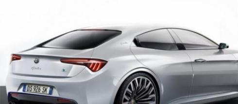 Nella foto: la nuova Alfa Romeo Giulia
