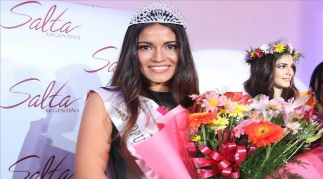 Claudia Barrionuevo estará en Miss Universo