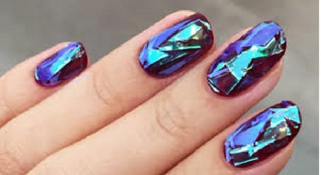 Risultati immagini per unghie effetto vetro