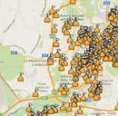 Mappa delle buche di Roma