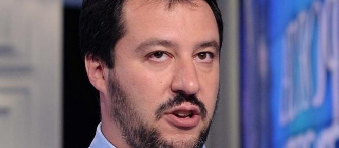 Matteo Salvini, il leader della Lega Nord