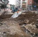 Lavori in corso a Napoli a seguito del mal tempo