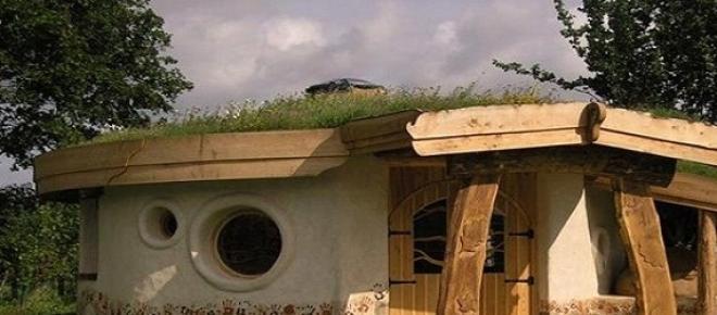 Casa construita din cauciuc