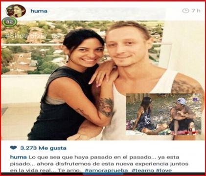 Estan Juntos Romina y Pedro 'amor a Prueba' Pilar y