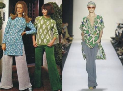 Tendencia de esta temporada moda a os 70 - Estilismo anos 70 ...