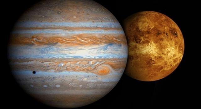 Resultado de imagen para Venus y Júpiter