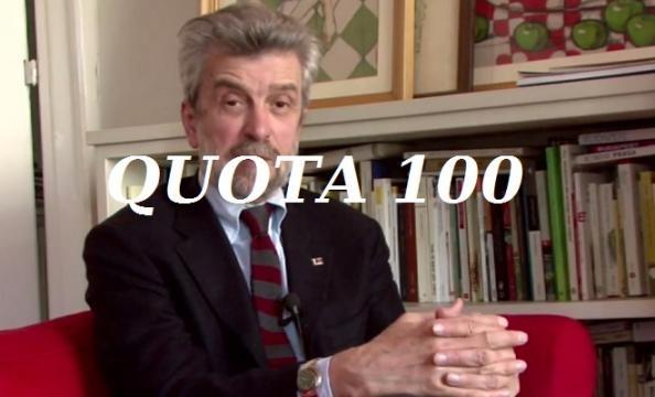 Pensioni la quota 100 di damiano per renzi troppo costosa for Ultimissime pensioni quota 100 per tutti