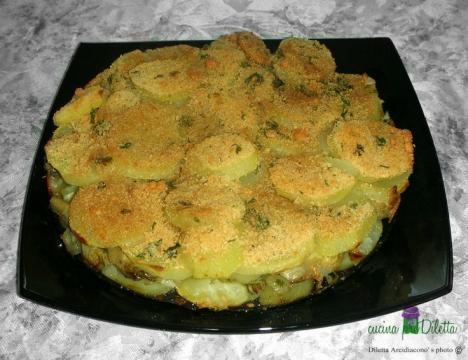 Contorno sfizioso di patate e carciofi for Ricette con carciofi