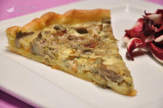 Torta di pasta sfoglia con carciofi e formaggi for Ricette con carciofi