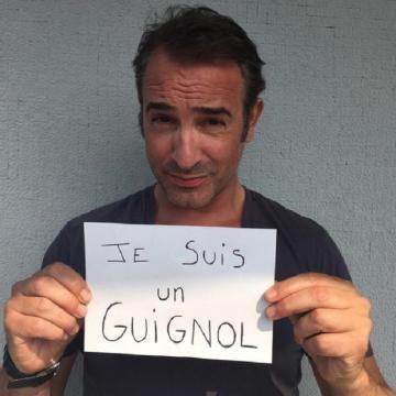 Miles de apoyos en francia a les guignols de l info for Jean dujardin info