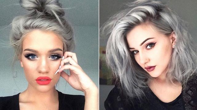 Tagli capelli grigi 2016