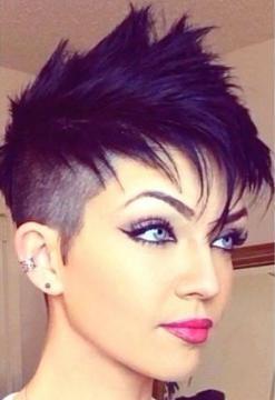 Tendenze della moda capelli donna 2016: 10 haircuts e colori tinte per ...  Undercut Dameskapsels