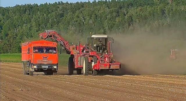Zagraniczne i krajowe maszyny rolnicze w akcji