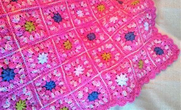 C mo tejer f cilmente a crochet una manta o cobija para el - Como hacer una manta de lana para el sofa ...