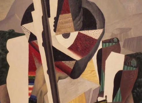 Diego Rivera. Paisaje zapatista.