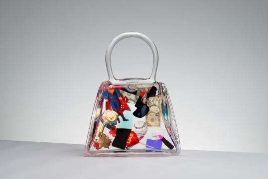 Most of Debra's art is done in molds of handbags. / Photo via Debra Franses Bean, used with permission.