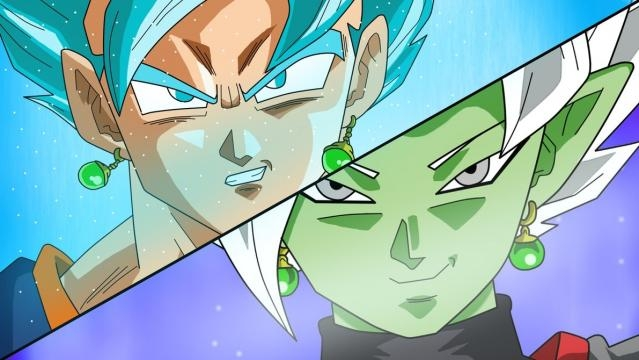 ¡La Batalla Culminante ! ¡El Poder Milagroso de un guerrero implacable ! (66) Vegetto-vs-la-fusion-de-zamasu-en-un-fan-art_943083