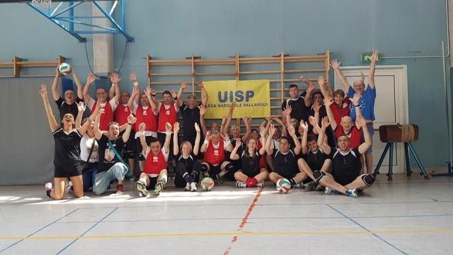 Pallavolo UISP Piemonte - La gioia dei ragazzi del campionato PALLAVOLMENTE