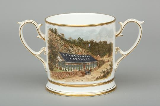 Loving Cup. Courtesy of Ironbridge Gorge Museum Trust