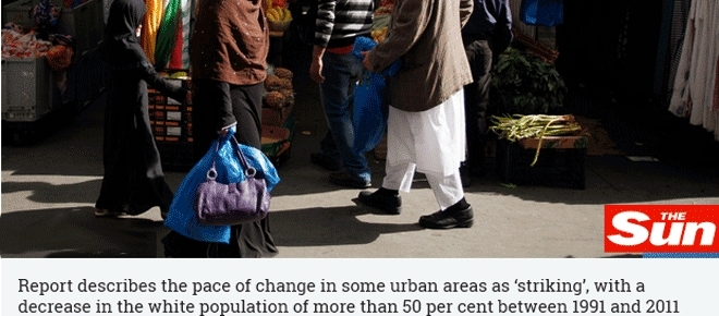 De plus en plus, la ségrégation ethnique s'accentue en Angleterre et le Brexit l'amplifiera