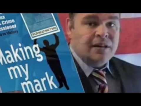 Matt Taylor Sussex Police and Crime Commissioner candidate 2012 Screencap via Matt Taylor, Youtube