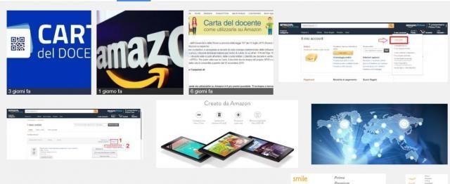 Acquistare Con La Carta Del Docente Amazon